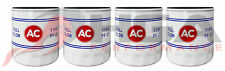 Genuine GM ACDelco Vintage Classic PF25 Oil Filter AC Logo 19187300 Set Of 4