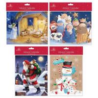 Advent Calendar Traditional Nativity Christmas  Countdown Children Gift Envelope