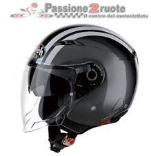 Casco jet moto scooter Airoh City one Flash antracite XS helmet casque