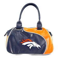 Denver Broncos Women's Per-fect Bowler Bag Purse NFL Authentic by Little Earth