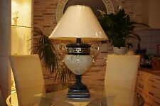 Tischlampe Bürolampe Schreibtischlampe Vasenlampe Mäandermuster Versa Serie