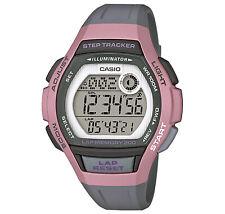 CASIO Digitale Armbanduhr für Damen mit Schrittzähler LWS-2000H-4AVEF