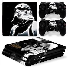 Storm Trooper PS4 Pro Protective Skin Stickers Console & 2 Controllers - #0043