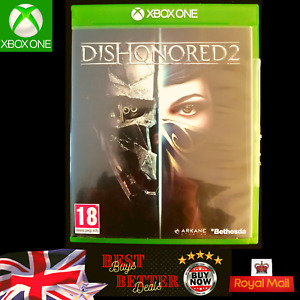 Dishonoured 2 Xbox One Game with Manual VGC