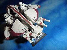 Star Wars 2005 LFL GTI Die-Cast ISP Swamp Speeder with Stand