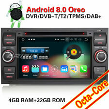 Octa-Core Android 8.0 Autorradio GPS Radio DAB+ Ford Galaxy Mondeo Focus S/C-Max