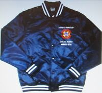 USCGC ALERT  WMEC-630 * COAST GUARD EMBROIDERED 1-SIDED SATIN JACKET