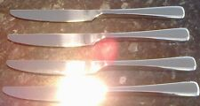 4 BRAND NEW Top Quality Dinner Knives 18/10 Stainless Steel Oneida Perimeter