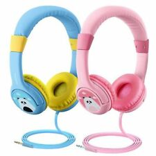 2X Mpow Over Wired Ear Headphones Headband Kids Girl Earphones for iPad/Tablet