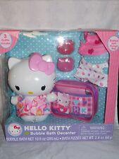 Hello Kitty BUBBLE BATH DECANTER Bubble Bath Bath Fizzies Outfits Storage Bag