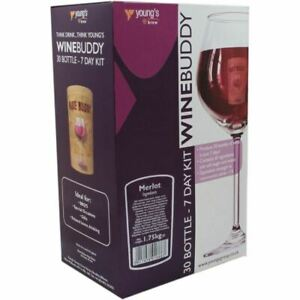 WineBuddy 30 Bottle Merlot