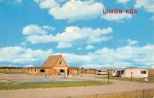 Limon Colorado KOA Kamp Ground Of America Vintage Postcard K69465