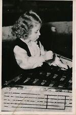 PARIS 1951 - Roland Mistin 3 Ans Musicienne Belge Xylophone Cirque - PRB 573