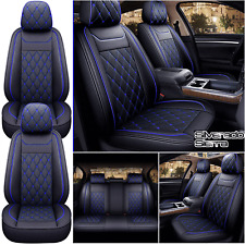 Full Set Leather Car Seat Covers For Chevey Silverado Gmc Sierra 1500 2007 2021
