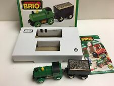 1997 Brio 33412 Great Western Railway Train Set Cargo Cart Wooden Train Thomas