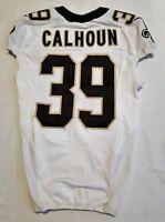 #39 Taveze Calhoun of New Orleans Saints NFL Locker Room Game Issued Jersey