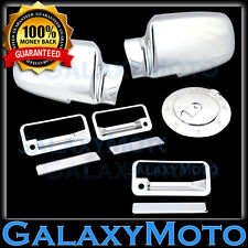 1998-2006 Chevy S-10 Blazer 4Dr Chrome Door Handle Covers w//PSKH