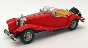 Franklin Mint 1/24 Scale FM500K - Mercedes 500K Special Roadster - Red
