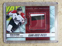12-13 ITG Heroes Prospects Subway Game-Used Patch NATHAN MACKINNON Silver /10