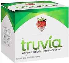 TRUVIA 1 BOX x 400 PACKETS NATURE'S CALORIE FREE SWEETENER