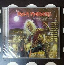 The Iron Maidens - World's Only Female Tribute to Iron Maiden CD - RARE!