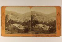 Germania Panorama Da Bagno c1868 Foto Stereo Vintage Albumina