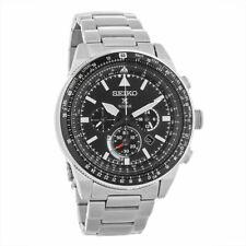Seiko Men's Prospex Stainless Steel Solar Aviator Watch - SSC629