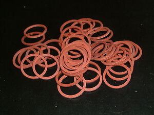 """3/4"""" Red Fibre Washer for Tap Connector"""