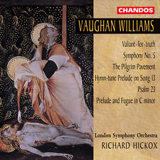 Richard Hickox, Vaug - Symphony 5 / Valiant for Truth / Pilgrim Pavement [New CD