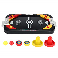 New listing Alomejor Ice Hockey Toy Air Hockey Game Table Mini Table Top Game Desktop Toys