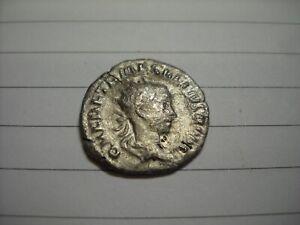 Herennius Etruscus, son of Trajan Decius Antoninianus Silver Coin 250-251AD