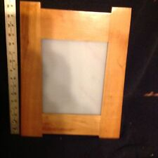 Natural Finished Solid Cherry 8x10 Mission Style Picture Frame