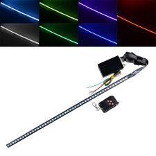 "7 Color 22"" Car Hood Grilles Bumper Knight Rider Strip Light 48 SMD Scanning"