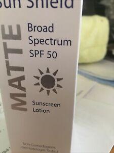 Obagi Sun Shield Matte Broad Spectrum Sunscreen Lotion SPF 50 3 oz