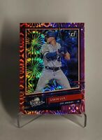 2020 Donruss #R-8 The Rookies GAVIN LUX Pink Fireworks SP Rookie RC DODGERS!!!!