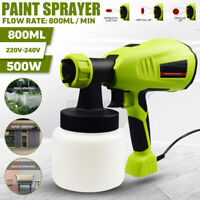 500W 800ML Electric Paint Spraying Machine Home Sprayer function High Power