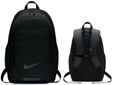 NIKE Academy Football Black Backpack Rucksack School Gym Resistant Travel Office