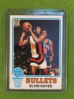 ELVIN HAYES BULLETS BASKETBALL CARD 1973-74 Topps #95 NBA Basketball *Set Break*