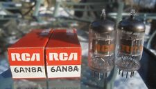 Pair NOS NIB 6AN8 Tubes -  choose from RCA or Tung Sol