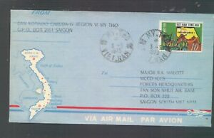Vietnam  blue military  cover   1973         MS0927