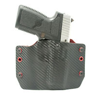 OWB Kydex Holster for Glock Handguns - Blood Red