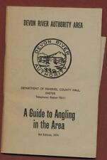 Devon River Authority. Guide to Angling in the Area. 1974  Y2:66