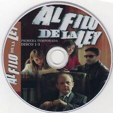 """ESPAÑA,SERIES,""""AL FILO DE LA LEY"""" UNICA TEMPORADA, 2005, 4 DVD"""