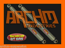 HOLDEN RODEO R7 R9 V6 2WD UTE 11/96-2/03 MONROE GT GAS REAR SHOCK ABSORBERS