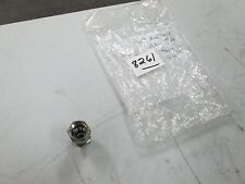 "Ssp Male Connector #P8-4C 1/2"" 37 Deg Female Flare X 1/4"" Mnpt 316 S/S (New)"