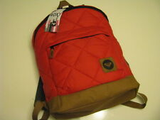 NWT Authentic ROXY  BOOK  STUDENT BAG  Backpack  Sugar Cane Red