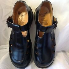 THE ORIGINAL DR. MARTEN MADE IN ENGLAND BABYDOLL BUCKLE SHOE SZ UK 7/US 9