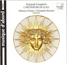 Couperin - Music for two harpsichords / William Christie · Christophe Rousset