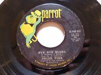 FRIJID PINK - Heartbreak Hotel / Bye Bye Blues 1970 HEAVY BLUES ROCK Parrot EX-
