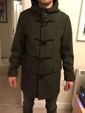 Mens Duffle Coat ASOS Dark Green - Small New No Tags